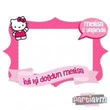 <strong>Miss</strong> 100 X 70 CM HELLO KITTY HATIRA ÇERÇEVESİ