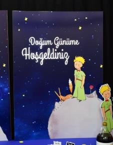 Miss The Little Prince 70x100 cm Katlanmaz Pano Afiş