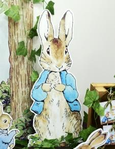 Partiavm Peter Rabbit Doğum Günü 68 cm Peter Rabbit Dekor Pano