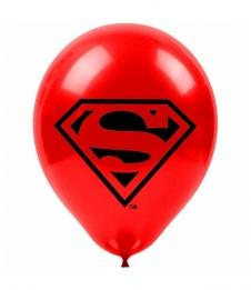 SAMM Baskılı Balon Superman  20li