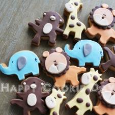 Happy Cookie Day HCDA002F Safari Kurabiye Standart Boy ( 4 Çeşit ) Adet Fiyat