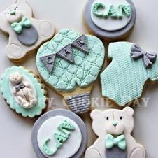 Happy Cookie Day HCDA004B Teddy Bear Kurabiye Standart Boy ( 5 Çeşit ) Adet Fiyat