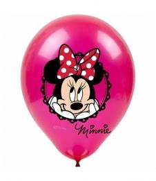 SAMM Baskılı Balon Minnie Mouse 10lu Paket