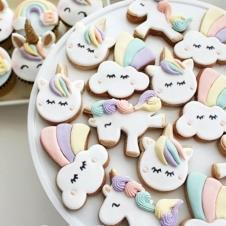 Happy Cookie Day HCDA001E Unicorn Kurabiye Standart Boy ( 3 Çeşit ) Adet Fiyat