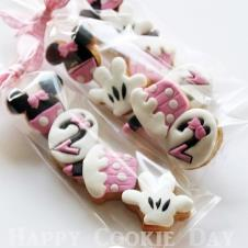 Happy Cookie Day HCDA020C Minnie Mouse 4 lü Kurabiye Seti Mini Boy Paket Fiyat