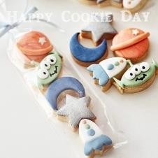 Happy Cookie Day HCDA031A Uzay Temalı 5 li Kurabiye Seti Mini Boy Paket Fiyat