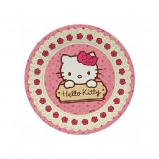 Partiavm Hello Kitty Karton Tabak 23 cm 8 li