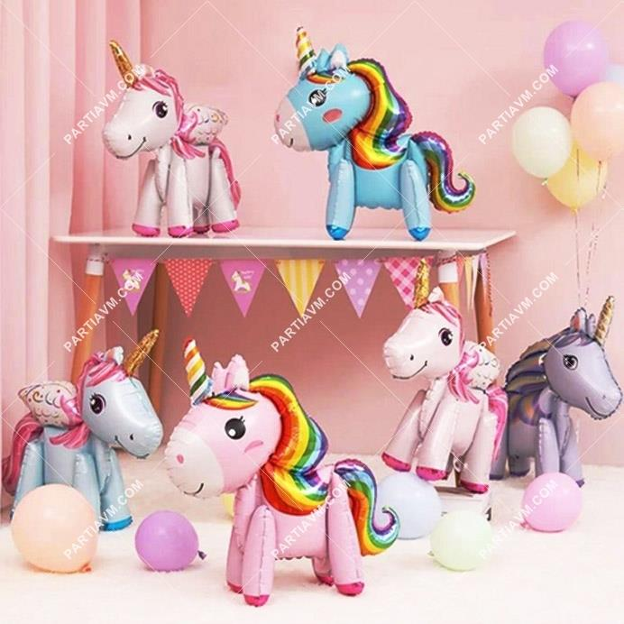 Mini Unicorn Folyo Balon 58cm