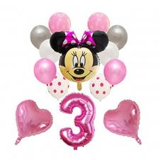 SAMM Pembe Minnie Mouse Balon Set satın al