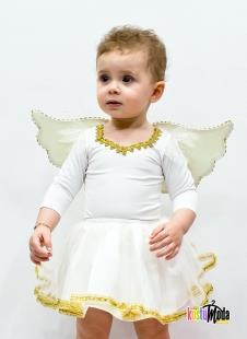 Just Baby & Kids Z 01-102B Bebek Melek Kostüm Gold
